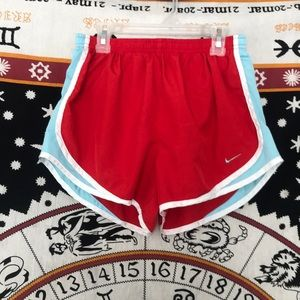 Nike Dri-Fit Running Shorts (Red, white, and blue)